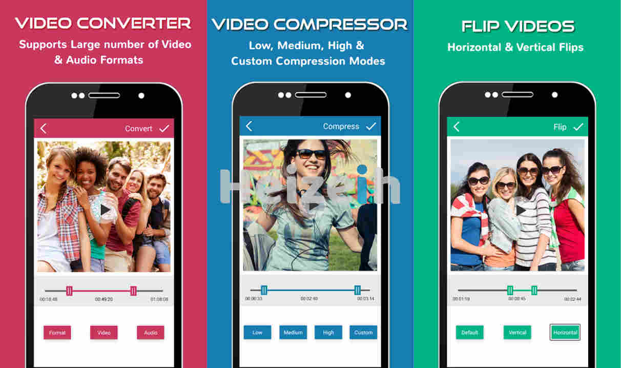 Video Converter Flip Compress