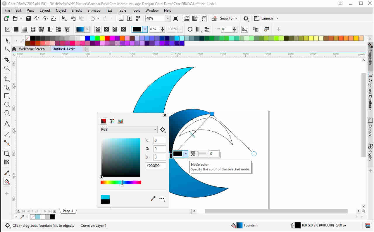 Cara Membuat Logo di Corel Draw